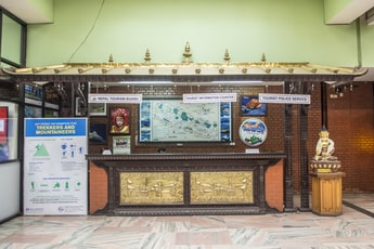 Nepal Tourism Board Information Counter
